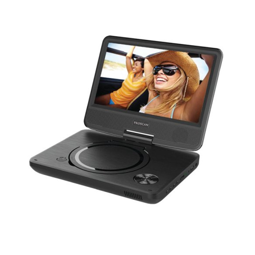 "Proscan PDVD9325 9"" Swivel-Screen Portable DVD Player - Manufacturer Refurbished"