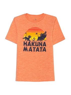 Disney The Lion King Hakuna Matata Licensed Graphic Tee (Little Boys & Big Boys)