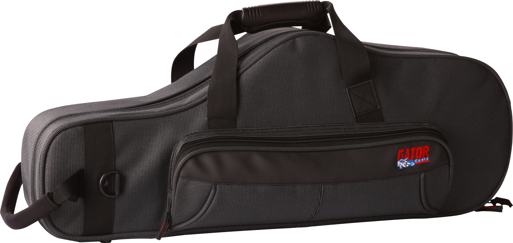 Gator GLALTOSAXMPC Lightweight Alto Saxophone Case in Black by Gator