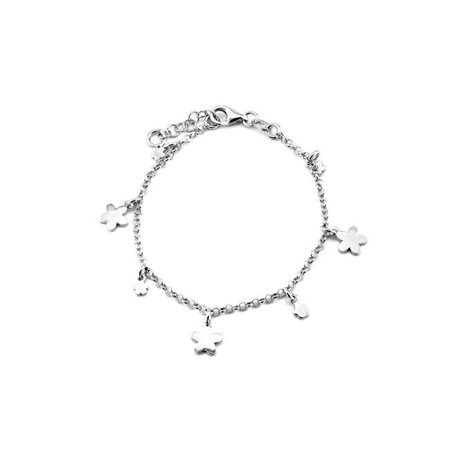Fronay 362125 Bracelet - breloques de fleurs en argent sterling Beckids de 5 po - image 1 de 1