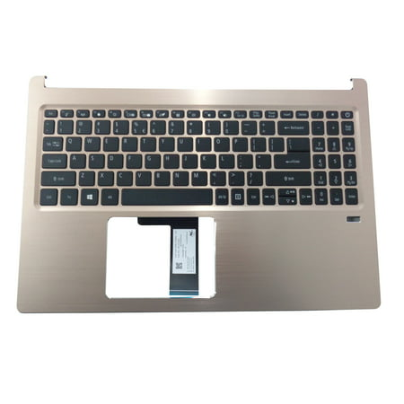 Acer Swift 3 SF315-52 SF315-52G Gold Palmrest & Keyboard 6B.GZEN5.008 - Walmart.com
