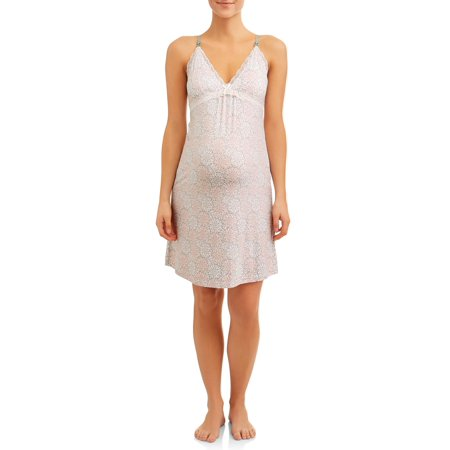 Maternity Nursing Snap Down Babydoll Sleep - Nina Chemise