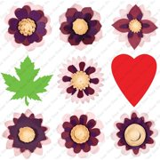 Cricut Projects Flower Shoppe Cartridge