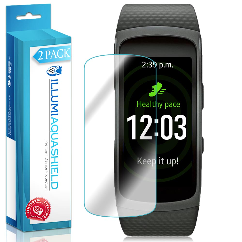 iLLumi AquaShield Clear Screen Protector for Samsung Gear Fit 2 (6-Pack)