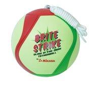 Mikasa Glow In The Dark Outdoor Tetherball, Soft Stitched Ball