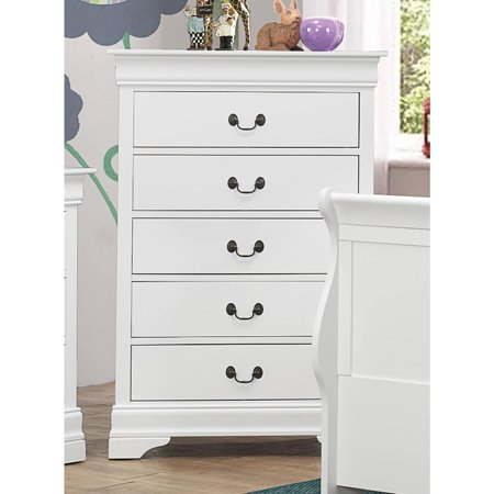 Coaster Company Louis Philippe Collection Chest, White