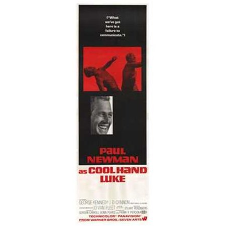 Pop Culture Graphics MOV221623 Cool Hand Luke Movie Poster, 11 x 17 - image 1 of 1