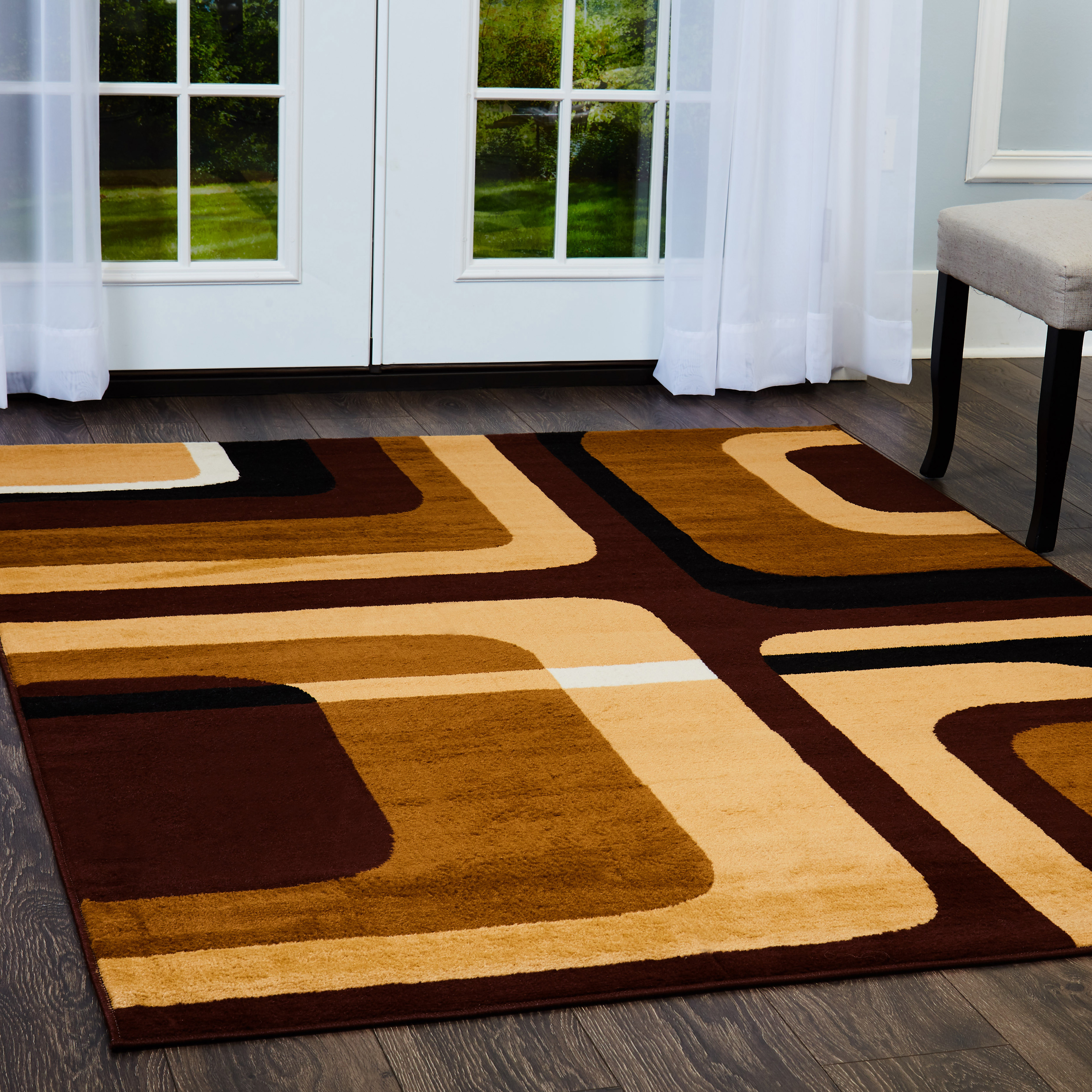 Home Dynamix Premium Collection Contemporary Area Rug for Modern Home Decor
