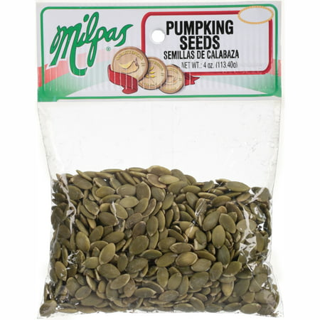 (3 Pack) MilpasÃÂî Pumpkin Seeds 4 oz. Bag