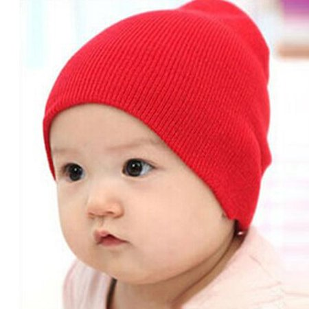 561b0dc15 Outtop Baby Beanie Boy Girls Soft Hat Children Winter Warm Kids Knitted Cap  RD