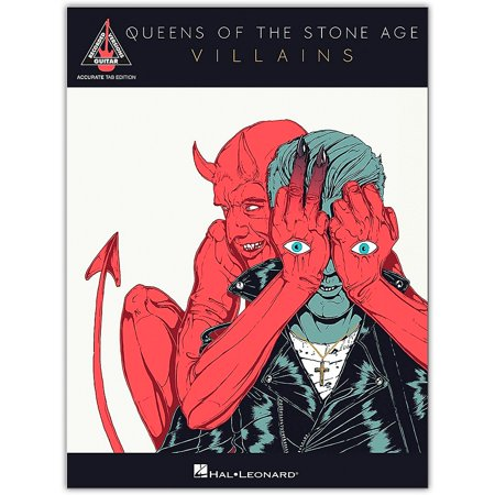 Hal Leonard Queens of the Stone Age - Villains Accurate Tab Edition