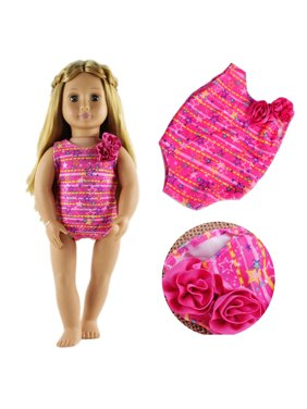 4516ab307d9ec Free shipping. Product Image (2Sets)18 Inches Swimwear Bikini Clothes For  American Girl Doll Summer SwimSuit