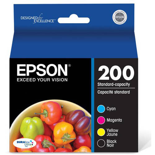 Epson T200 Black and Color DURABrite Ink Combo Pack