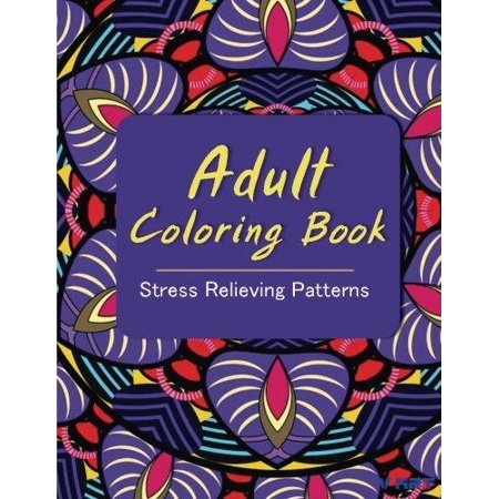 Adult Coloring Book Coloring Books For Adults Stress