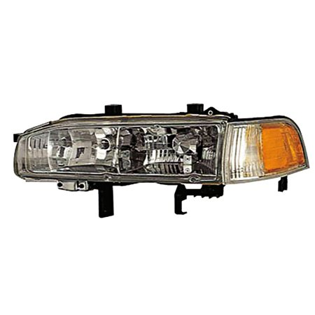 1992-1993 Honda Accord Driver Left Side Combination Headlight Lamp Assembly