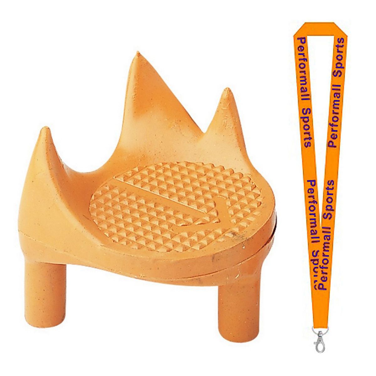 "Champion Sports Bundle: (Set of 3) 2"" Sidewinder Tee Orange with 1 Performall Lanyard KT5R-3P"