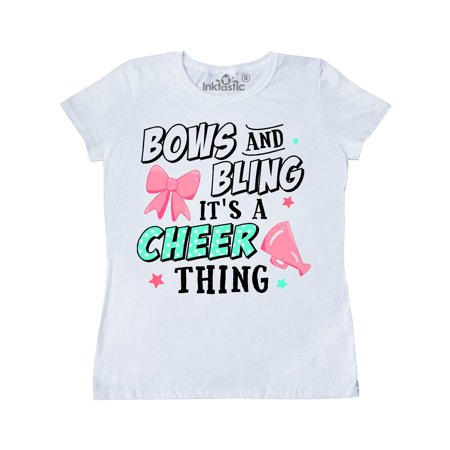 Bows and Bling Its a Cheerleading Thing Women's - Cheerleading Uniforms For Adults