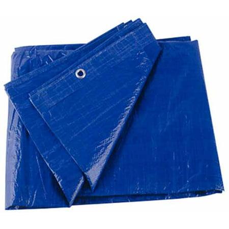 Vinyl Tarp - Kotap America 97121B  97121B; Tarp Blue Vinyl 12 Ft X 20 Ft