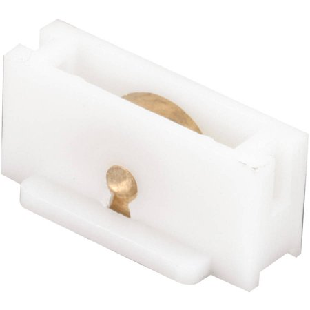 Prime Line G3122 3 8 Brass Flat Edge Roller Assembly 2 Count
