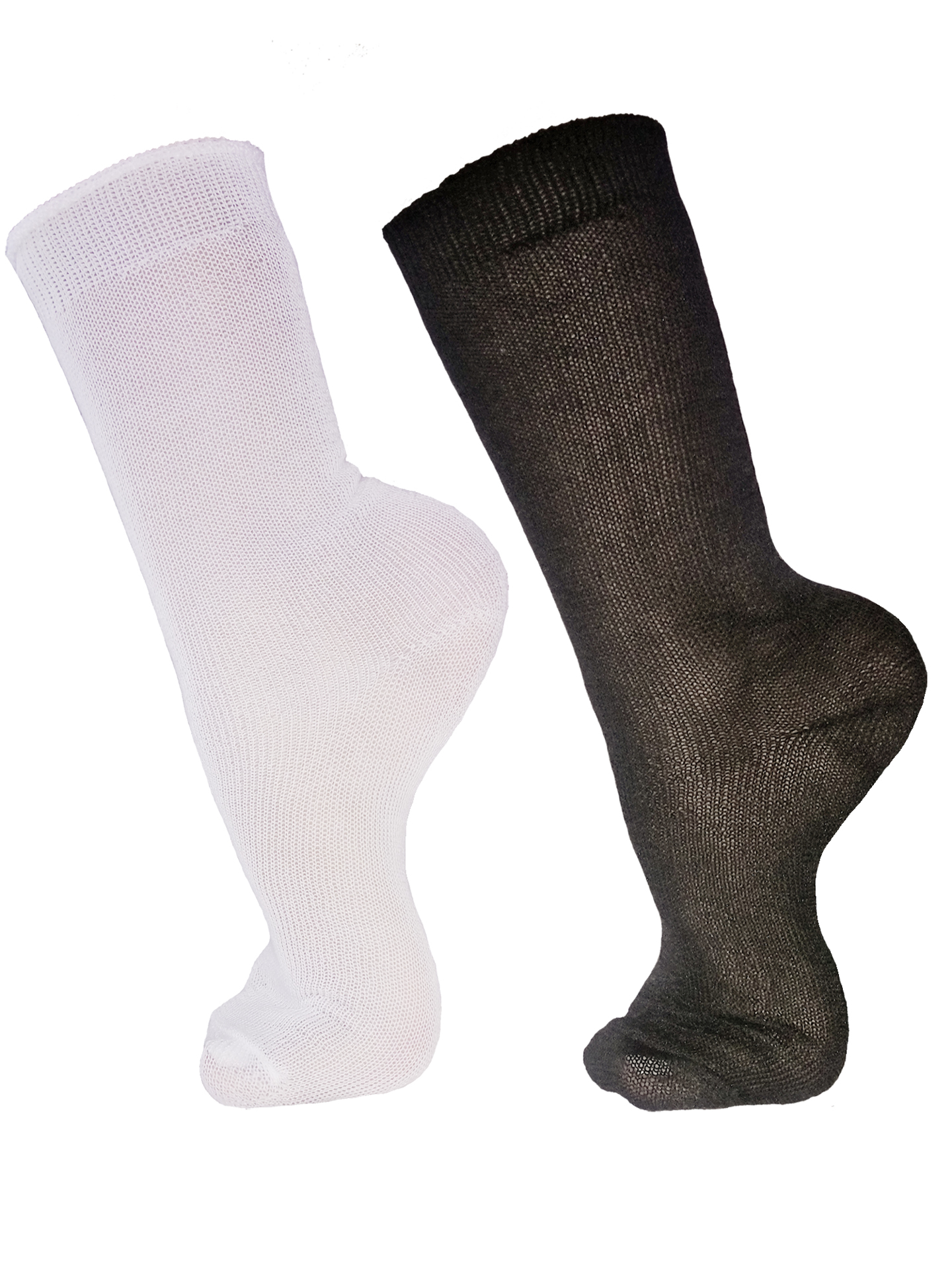 Everyday All Day Socks Underworks 20-Pack Unisex Disposable Casual Crew Socks For Business or Leisure Travel