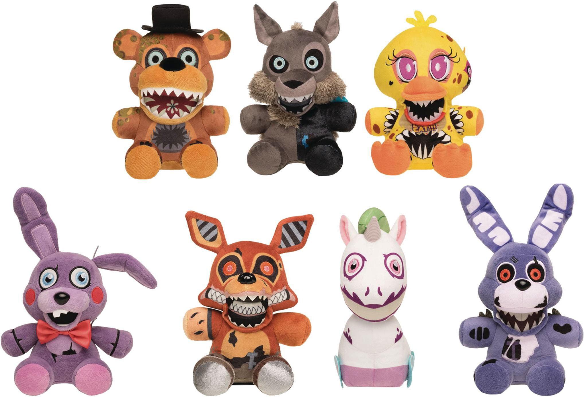 Koala Stuffed Animals Mini, Funko Five Nights At Freddy S Twisted Ones Set Of 7 Plushies Walmart Com Walmart Com