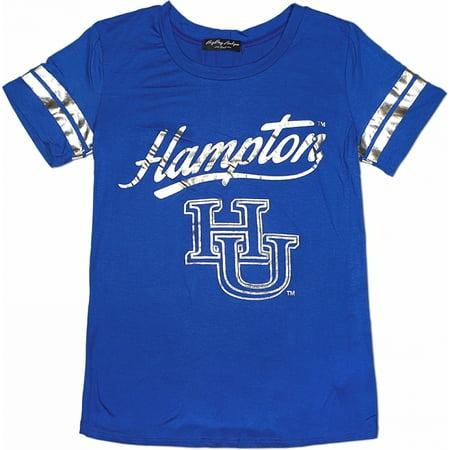 Big Boy Hampton Pirates S2 Ladies Jersey Tee [Royal Blue - S]