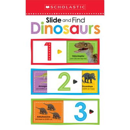 Slide and Find Dinosaurs (Board Book)