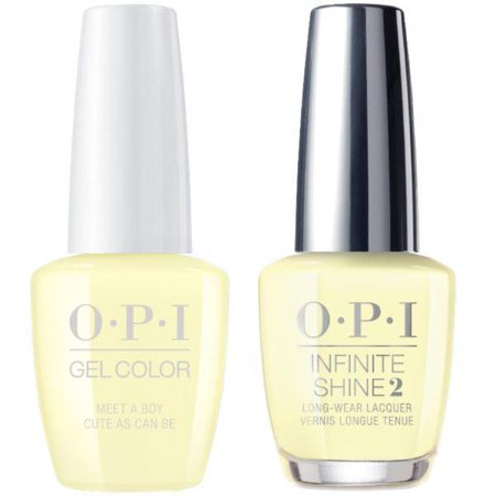 OPI GELCOLOR MEET A BOY CUTE AS CAN BE #G42 + INFINITE SHINE #G42 - image 1 of 1