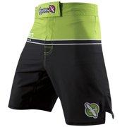 Multi-Purpose Sport Training Shorts - Size 30 - Green/Black