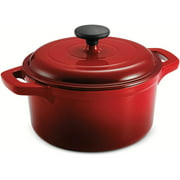 Tramontina 3.5-Quart Enameled Cast-Iron Round Dutch Oven