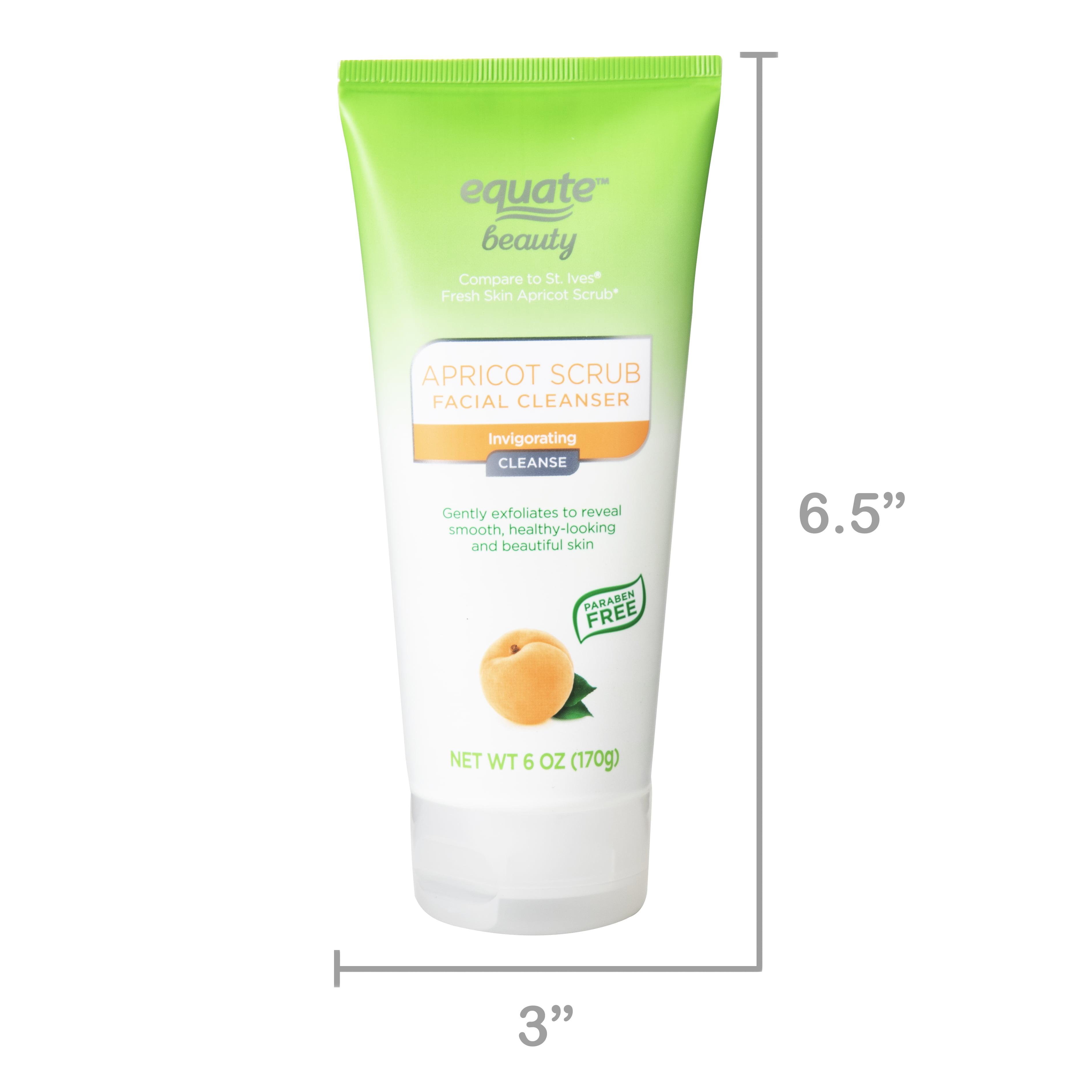 Equate Beauty Refreshing Apricot Scrub 6 Oz Walmart Com