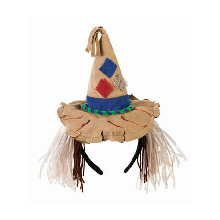 Scarecrow Mini Hat Headband - Scarecrow Hat