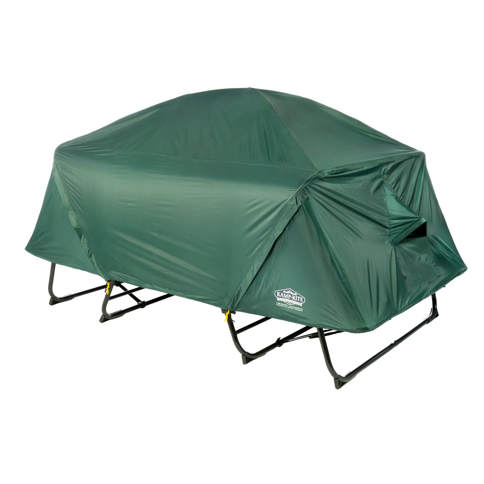 Click here to buy Tent Cot Double Collapsible Combo Tent Cot by Tent Cot.