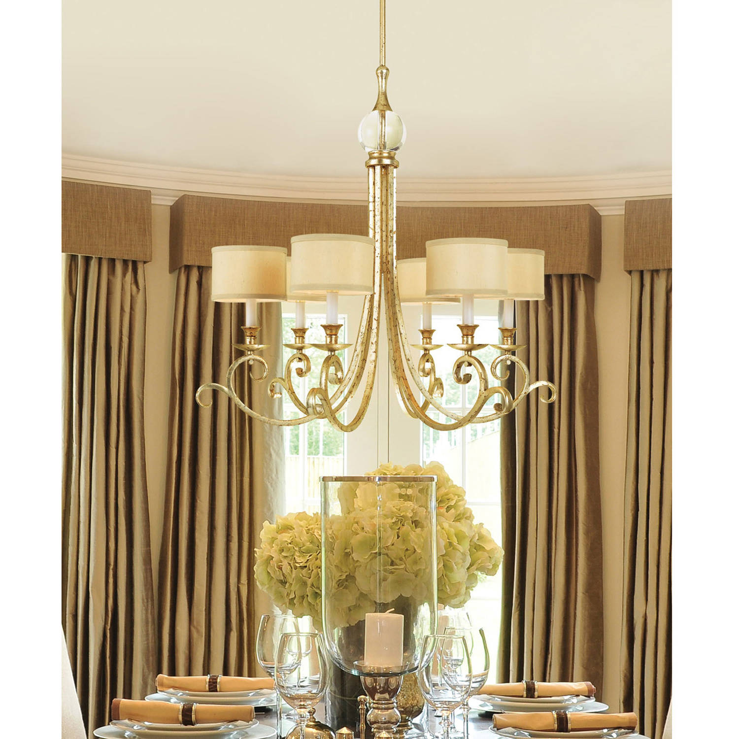 AF Lighting Lucy 6-Light Chandelier