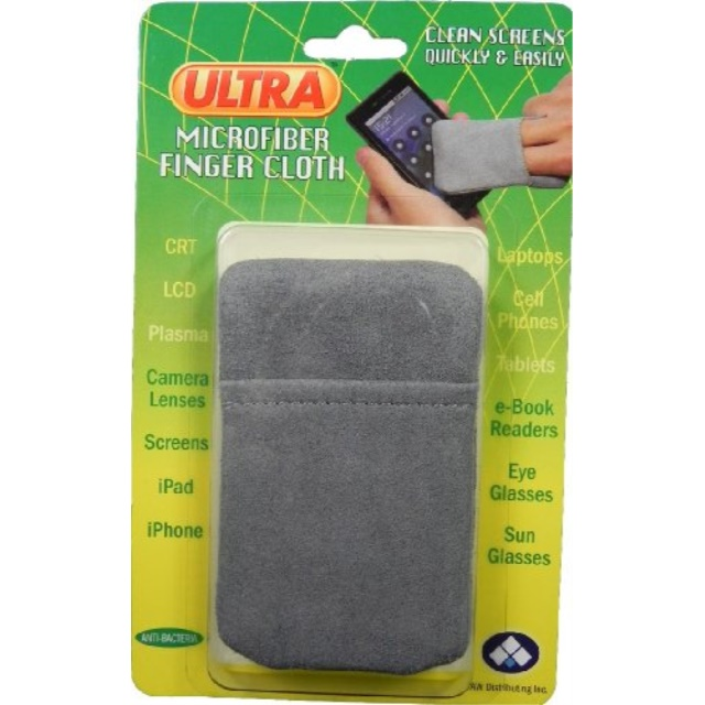 AW Distributing UMF-F11 Electronics/Screen Cleaning Finger Cloth