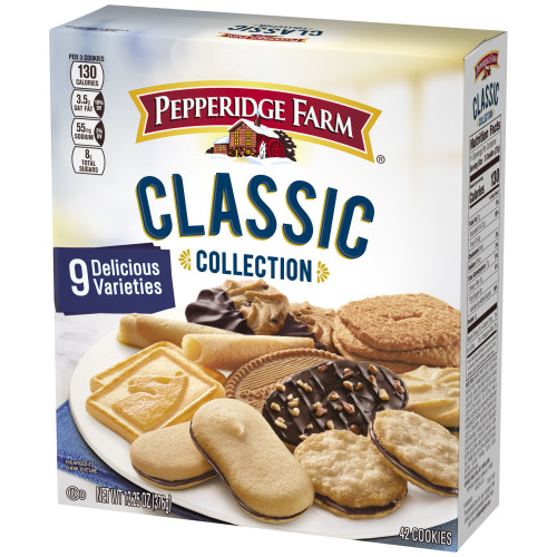 Pepperidge Farm Classic Collection Cookies 13 25 Oz Box Walmart Com Walmart Com