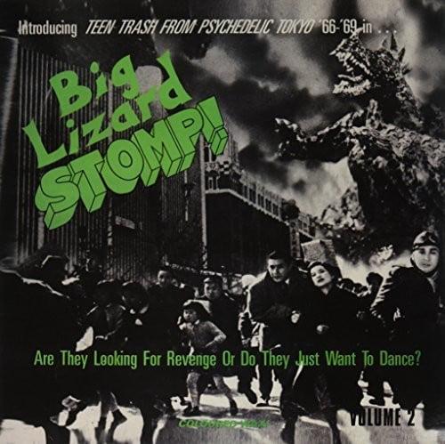 Big Lizard Stomp 2: Teen Trash Psychedelic   Var (Vinyl) by