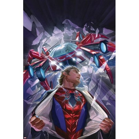 The Amazing Spider-Man No. 8 Cover Featuring Parker, Peter, Spider-Man Poster Wall Art By Alex Ross