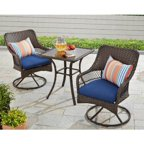 Better Homes And Gardens Colebrook 4 Piece Outdoor Conversation Set Seats 5