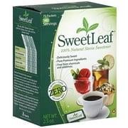 Sweetleaf 100% Natural Stevia Sweetener, 70ct (Pack of 3)