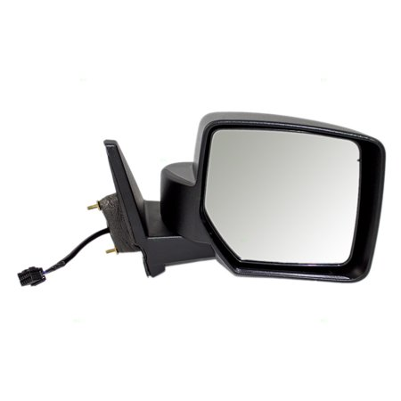 Passengers Power Side View Mirror Heated Textured Replacement for Jeep Patriot 5155458AI