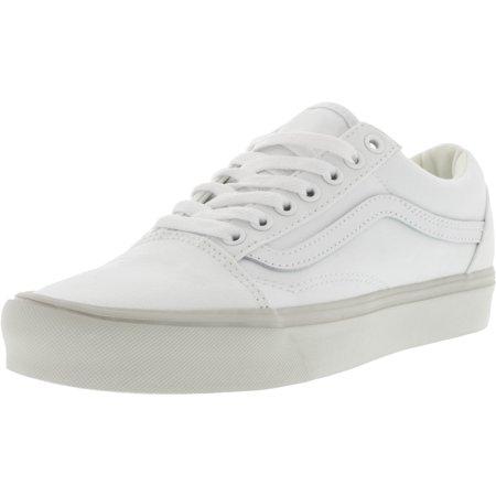 Old Skool Lite Pastel Pop True White/Wind Chime Ankle-High Canvas Skateboarding Shoe - 9.5M 8M Vans Billig Verkauf Genießen Auslass Sehr Billig Auslass Geniue Fachhändler vNjvl63