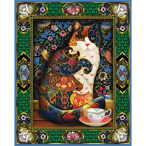 White Mountain Puzzles Cat Jigsaw Puzzle, 1000-pieces