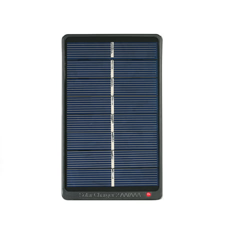 2*AA/AAA Rechargeable Batteries Charger Solar Powered Charger 1W 4V Solar Panel for Battery