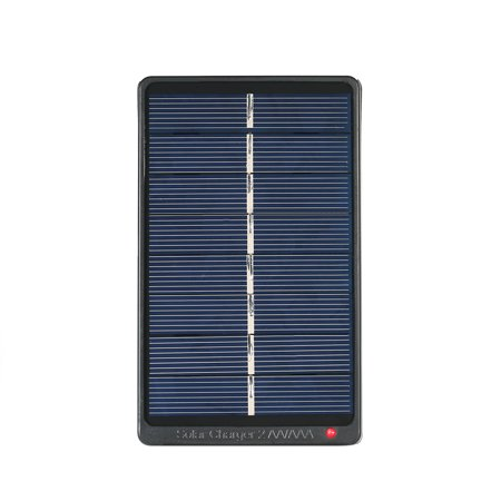 2*AA/AAA Rechargeable Batteries Solar Powered 1W 4V Solar Panel for Battery Charging - image 7 of 7