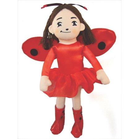 Stuffed Ladybug - Ladybug Girl Plush