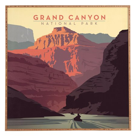 Deny Designs Anderson Design Group Grand Canyon National Park Framed Wall Art