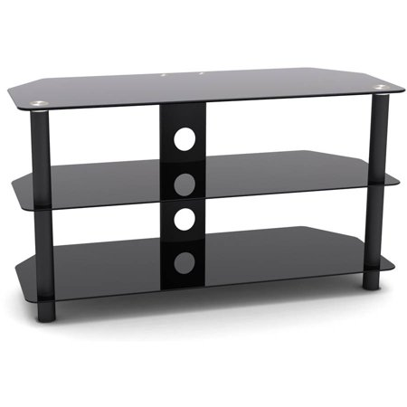 Inland Products ProHT 05445 Black TV Stand for TVs up to 42″
