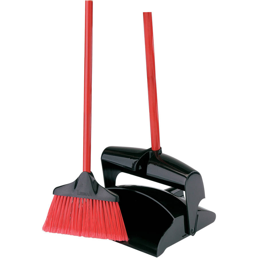 Libman Lobby Broom & Dust Pan