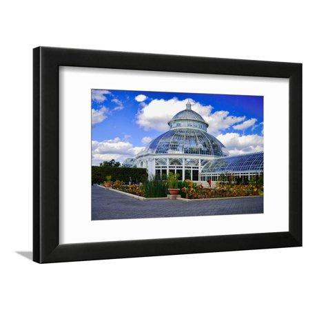Haupt Conservatory, New York Botanical Gardens, Bronx, New York Framed Print Wall Art By Sabine